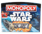 Star Wars: Open & Play Monopoly Board Game 1