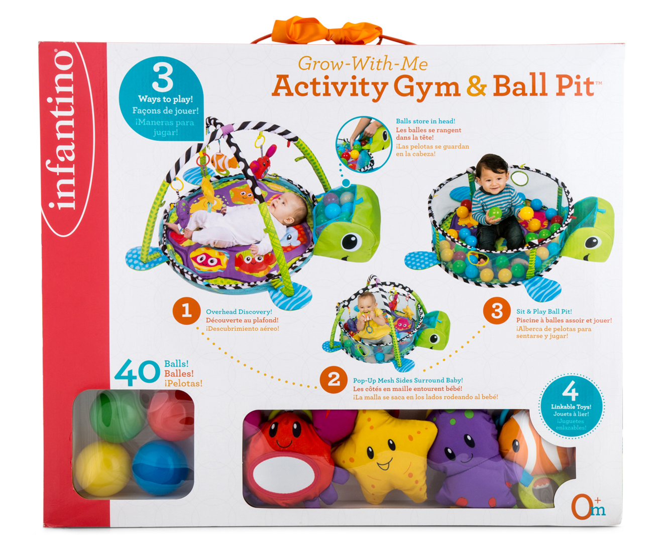 Infantino Grow With Me Activity Gym Amp Ball Pit Scoopon