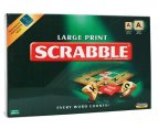 Scrabble Large Print Board Game 1