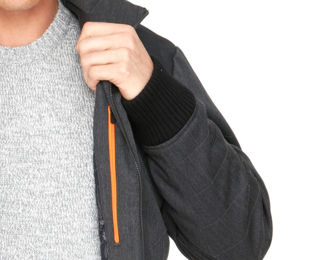 iXtreme Boys Tonal Print Vest W//Fleece Hood /&Sleeve 93365