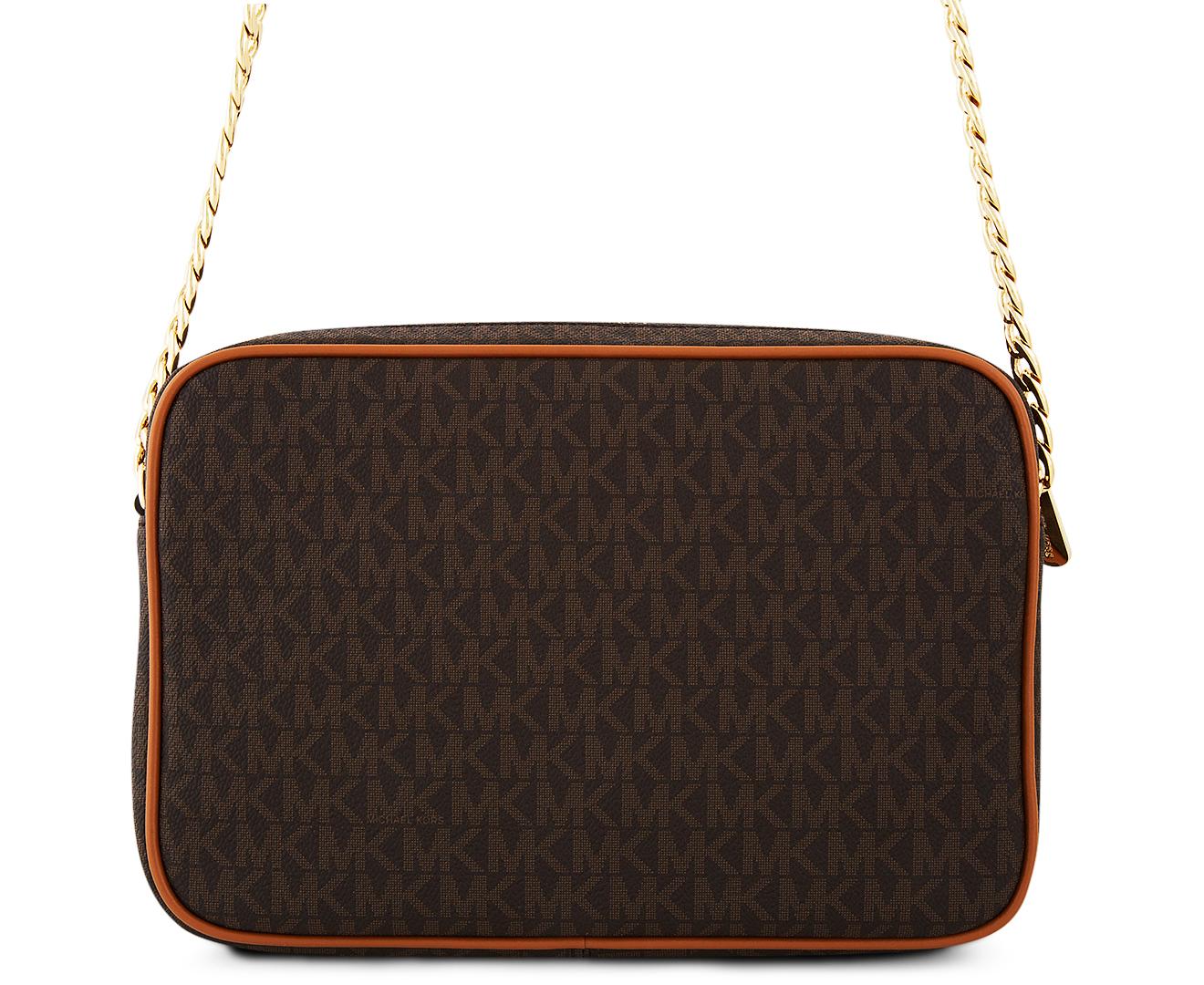 b6c8d6159cff ... Medium Tote Vanilla Shoulder Bag 30T3GT Catch.com.au Michael Kors Jet  Set Item Large EW Crossbody Bag - Brown ...