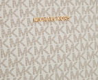 Michael Kors Jet Set Travel Large Messenger Bag - Vanilla 4