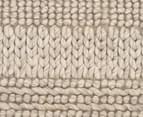Rug Culture 225x155cm Scandi Winter Design Flatweave Rug - Grey 5