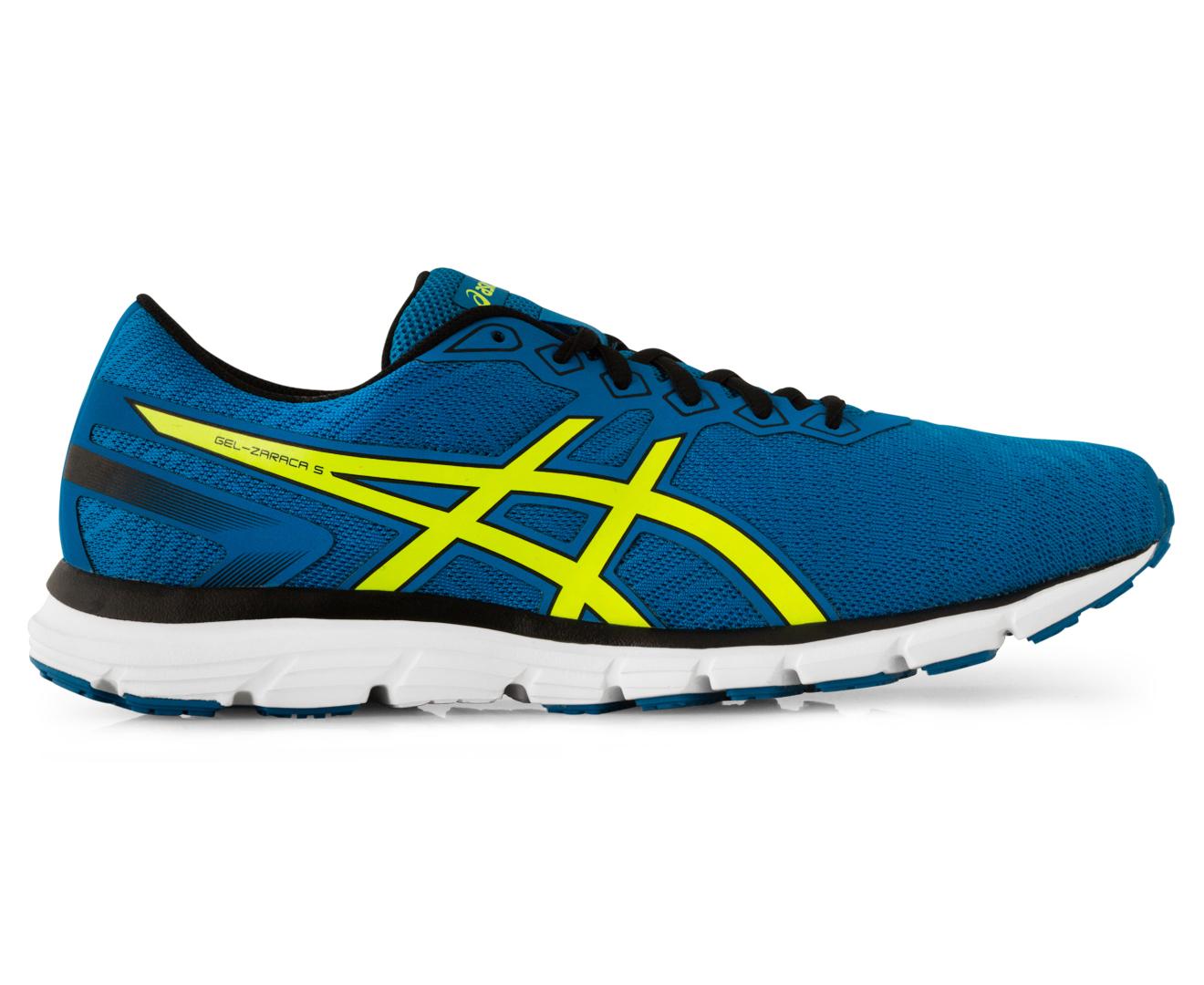 competitive price 7e75c e4fde ASICS Men's GEL-Zaraca 5 Shoe - Electric Blue/Safety Yellow/Black