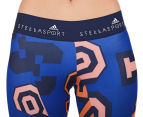Adidas Women's Stella Sport Long Tights - Blue/Black 3