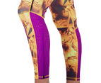 Adidas Women's Supernova Long Tights - Yellow/Pink 5