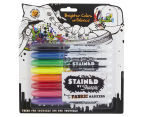 Sharpie Stained Fabric Markers Brush Tip 8-Pack 1