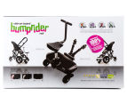 Bumprider Toddler Skate Glider Board with Seat - Black 2