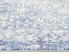 Tapestry Contemporary Easy Care Cairo 400x80cm Runner - Blue 3