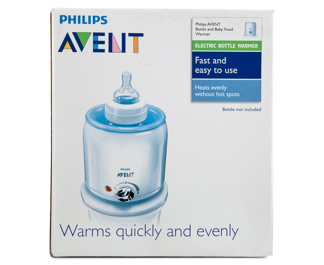 philips avent bottle warmer instructions