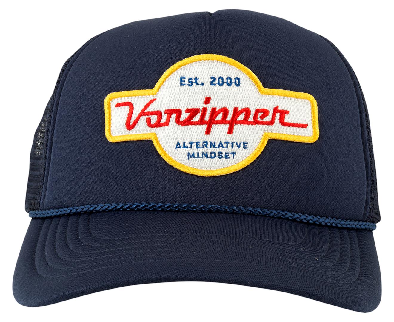 VonZipper Alt Trucker - Navy  293d975c9bd1