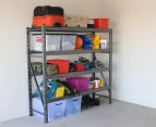 Summit Storage 4-Level Industrial Shelving Unit Starter Bay 2