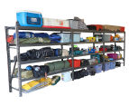 Summit Storage Industrial Shelving Unit Additional Bay Kit 3