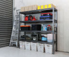 Summit Storage 4-Level Heavy Duty Riveted Shelving Unit 2