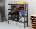 Summit Storage 4-Level Heavy Duty Riveted Shelving Unit 3