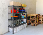 Summit Storage 4-Level Heavy Duty Riveted Shelving Unit 4