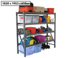 Summit Storage 4-Level Industrial Shelving Unit Starter Bay 1