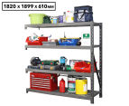 Summit Storage Industrial Shelving Unit Additional Bay Kit 1