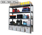 Summit Storage 4-Level Heavy Duty Riveted Shelving Unit 1