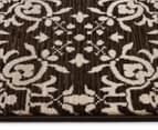 Palais Classic Persian Floral Motif 290x200cm Rug - Dark Brown 3