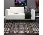 Palais Classic Persian Floral Motif 230x160cm Rug - Dark Brown 5