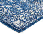 Tapestry Contemporary Easy Care Cairo 400x80cm Runner - Navy 2