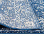 Tapestry Contemporary Easy Care Cairo 400x300cm Rug - Navy 4