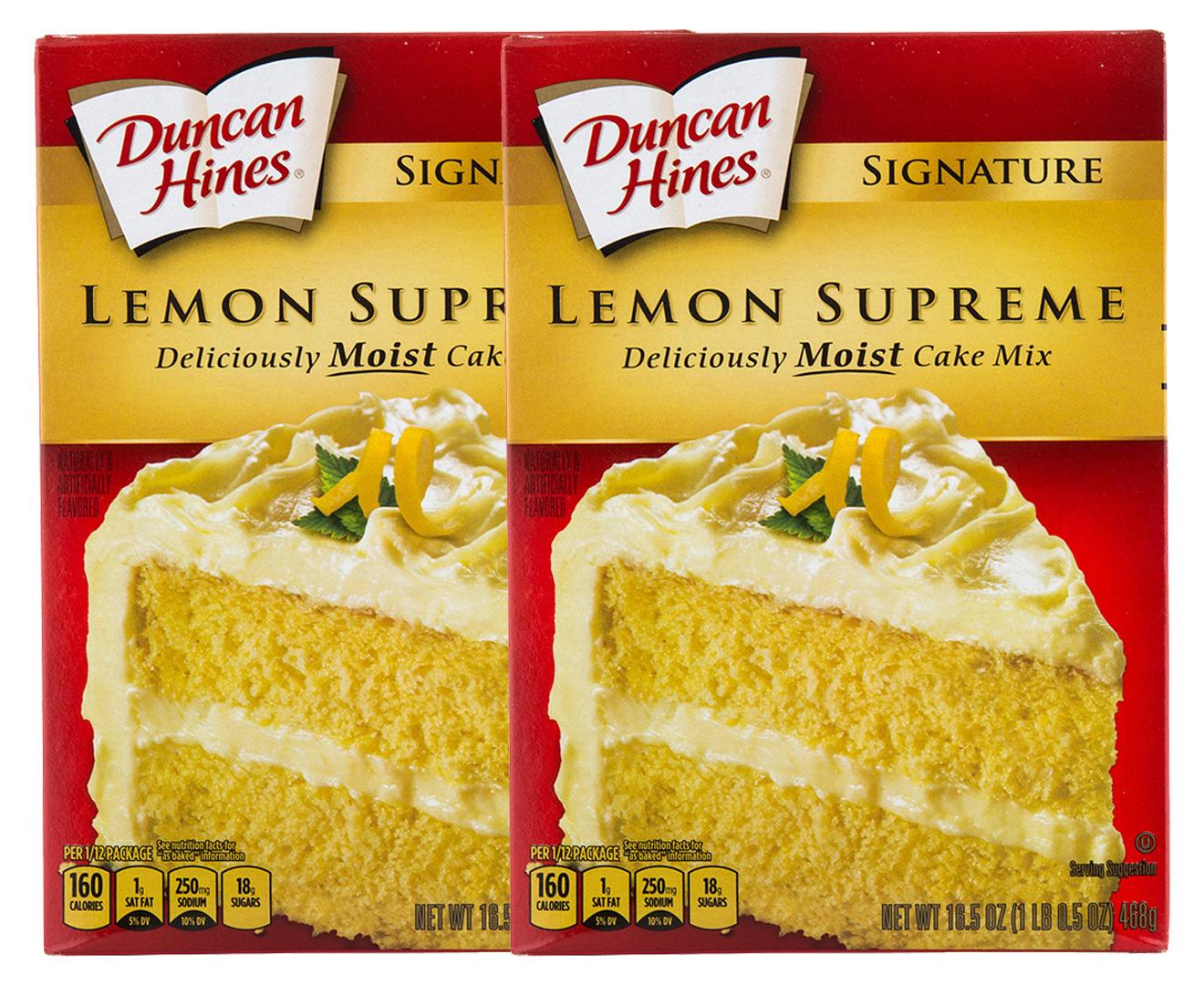Duncan Hines Cake Mix Australia