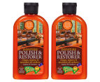 2 x Orange Power Furniture Polish & Restorer 250mL 1