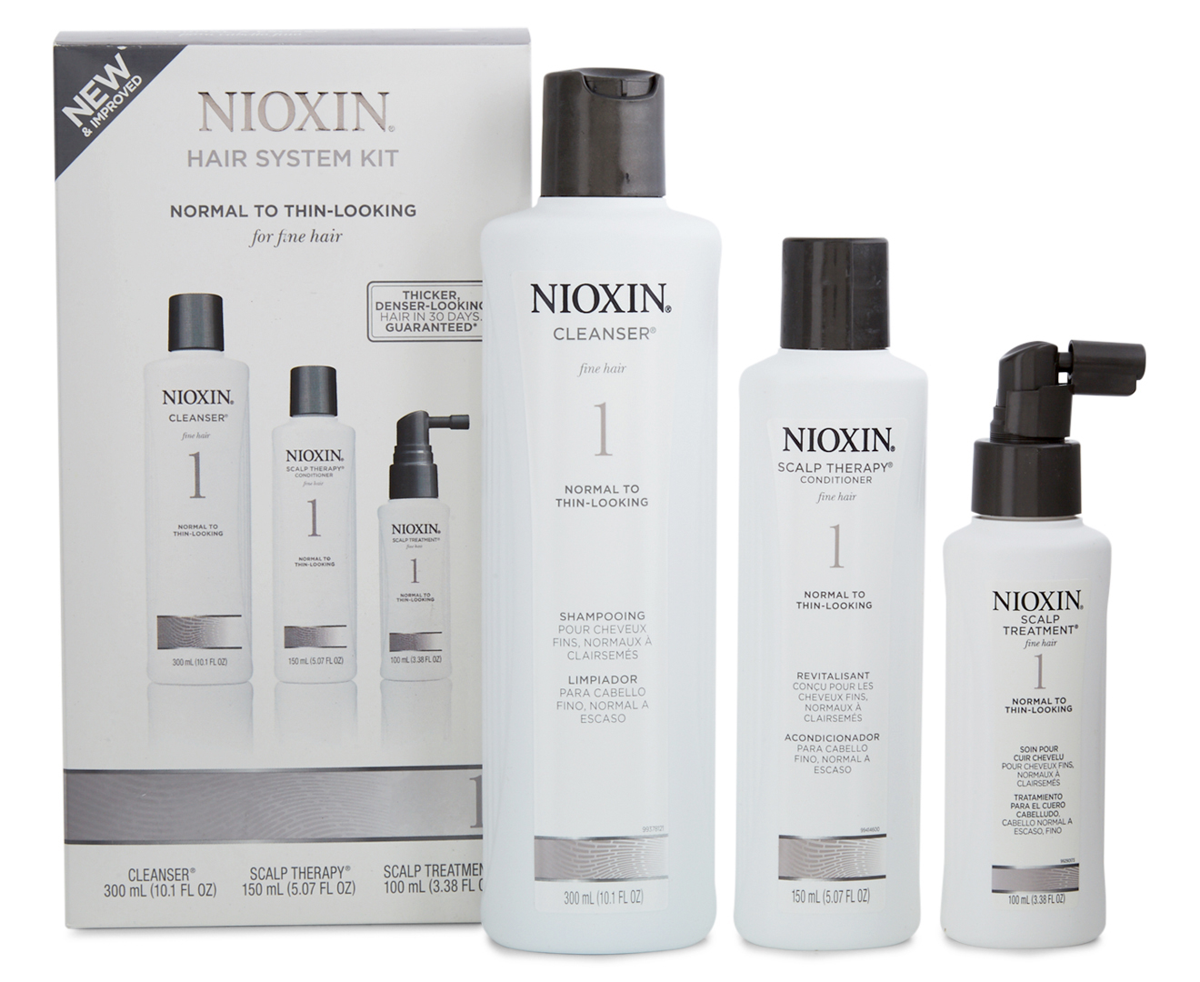 Nioxin Thinning Hair System 1 Kit Groceryrun Com Au