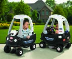 Little Tikes Indoor/Outdoor Patrol Police Coupe Toddler Children Ride On Toy Car 18m+ 3