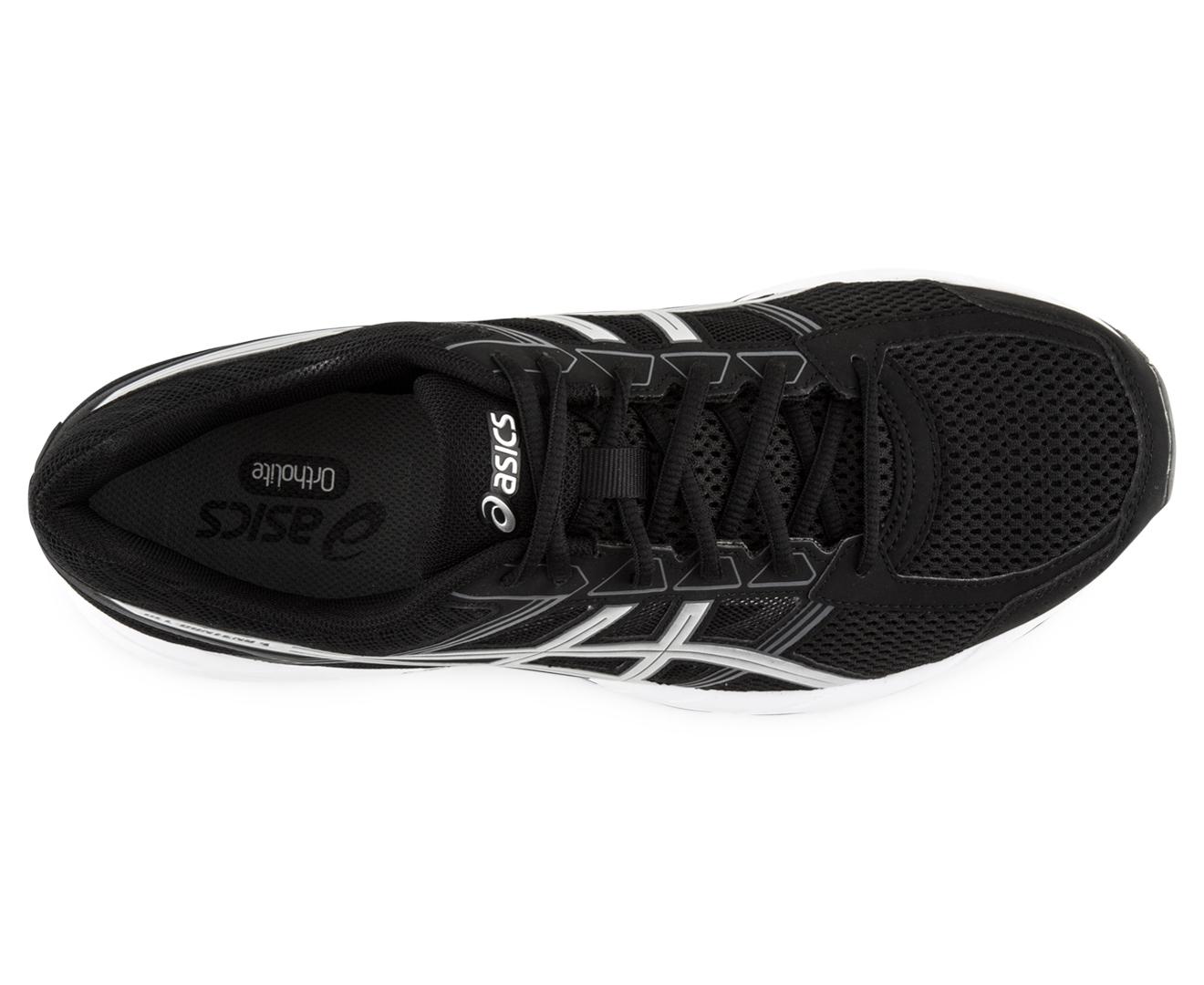 Men Black Asics Gel Shoe Extra Wide
