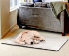 Lucky Sprint Large 90x64cm Self Heating Pet Mat - Ivory 2