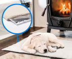 Lucky Sprint Large 90x64cm Self Heating Pet Mat - Ivory 3