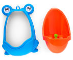 Boy's Toilet Training Frog Urinal - Orange 3