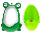 Boy's Toilet Training Frog Urinal - Green  3