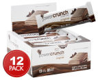 12 x Power Crunch Protein Bar Triple Chocolate 40g 1