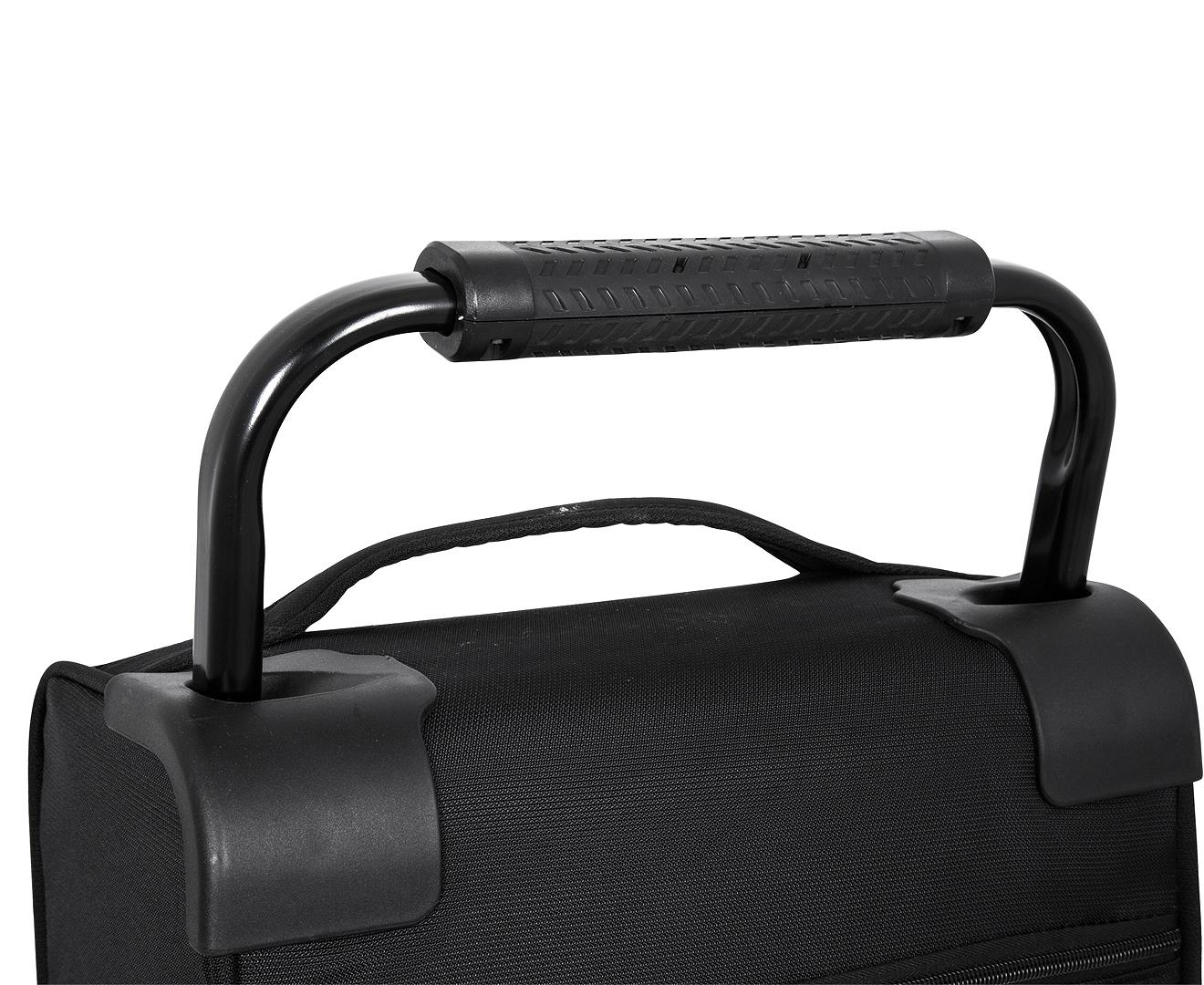 3880c8a50 ZFrame Super Lightweight 3-Piece 8W Suitcase Set - Black | Catch.com.au