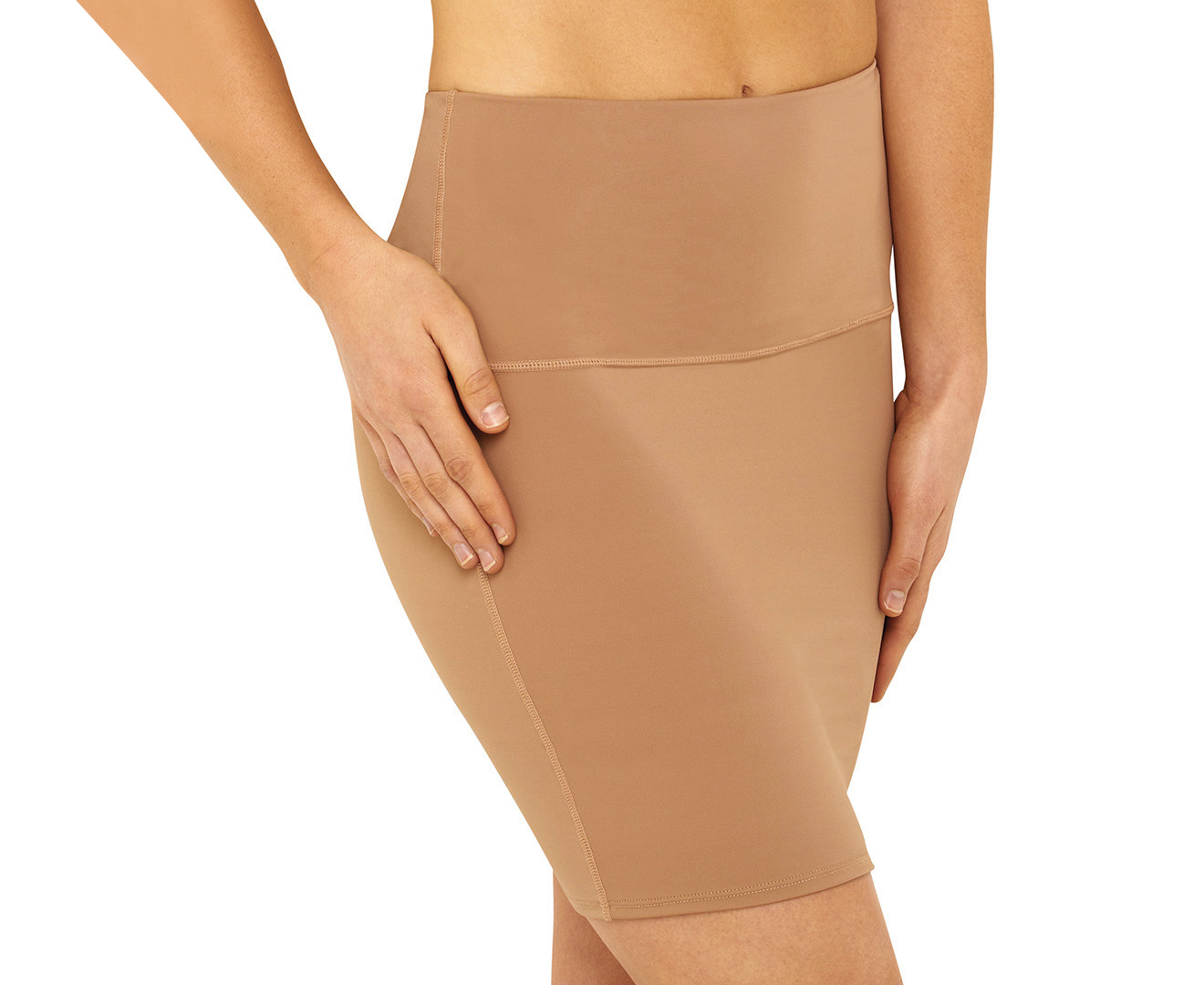 669ab40398 Hold Me Tight Firm Control Half Slip - Mocca