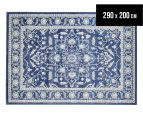 Rug Culture 290x200cm Tapestry Easy Care Cleo Rug - Navy 1