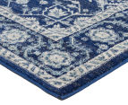 Rug Culture 290x200cm Tapestry Easy Care Cleo Rug - Navy 2