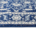 Rug Culture 290x200cm Tapestry Easy Care Cleo Rug - Navy 3