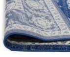 Rug Culture 290x200cm Tapestry Easy Care Cleo Rug - Navy 4