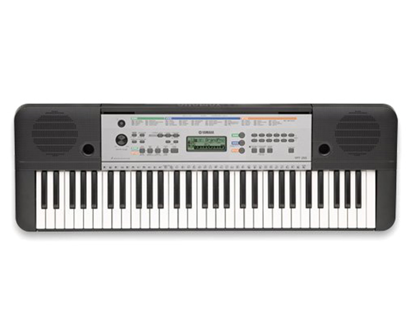 Yamaha ypt 255 portable keyboard black great daily deals at australia 39 s favourite superstore for Yamaha 3 octave keyboard