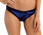 Seafolly Women's Fastlane Scuba Hipster Bikini Bottom - Blue Ray  1