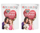 2 x Love'em Chicken & Cranberry Mini Liver Cookies For Dogs 300g 1