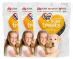 3 x Love'em Chicken Liver Treats For Dogs 90g 1