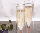 Inside Out Champagne Flute Set Of 2 3