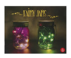 Thumbs Up! Fairy Jars Set Of 2 - Purple/Green 5