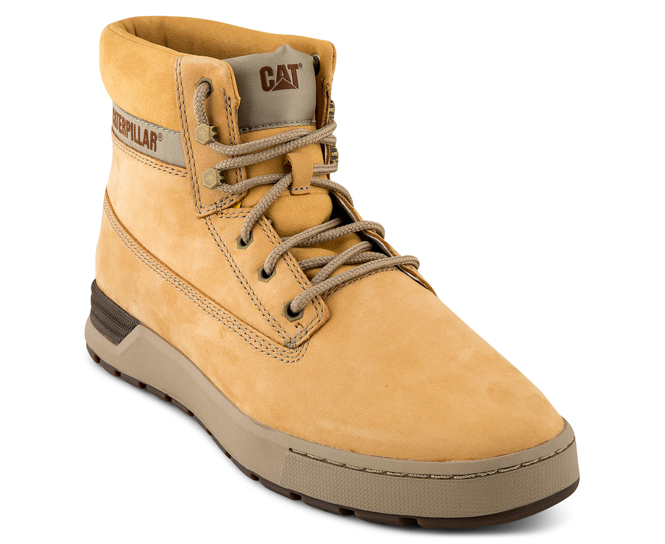 ac15c27903e CAT Men's Ryker Leather Boot - Honey Reset
